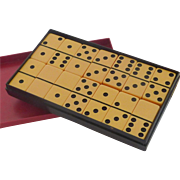 Crisloid Yellow Butterscotch Set of Dominoes Game