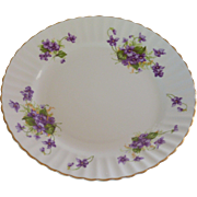 Radford Violet Scalloped Salad Plate