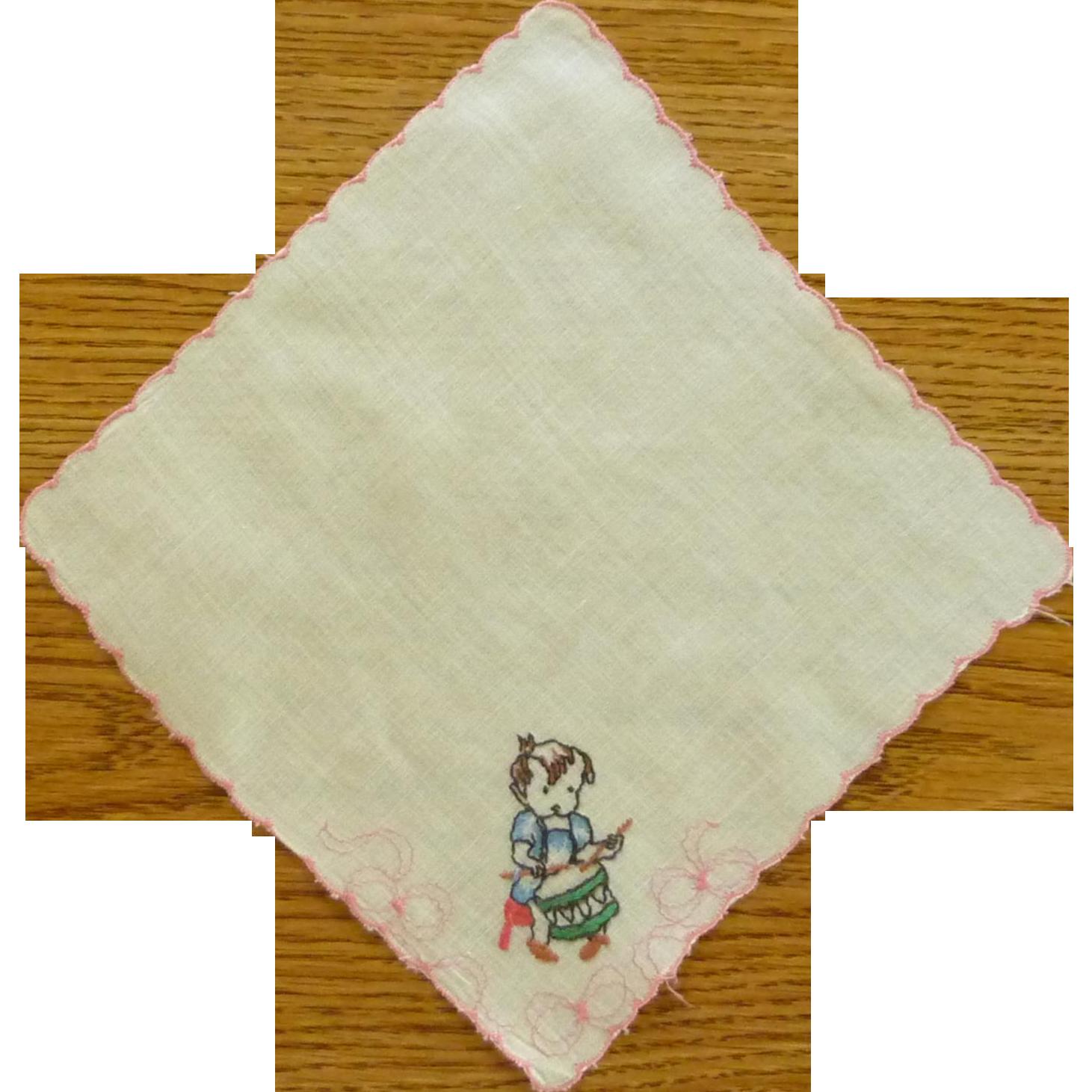 Child Handkerchief Little Drummer Boy / Girl