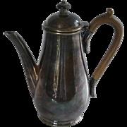 Thomas Prime 19th century Silver Plate Teapot