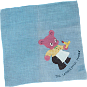 The Candlestick Maker Children's Handkerchief
