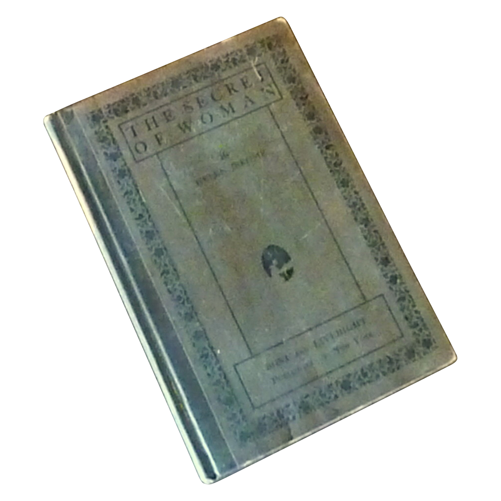 The Secret of Woman 1923 Hard Cover Book