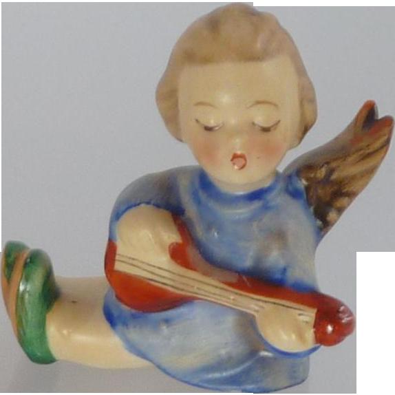 M. I. Hummel Angel Lute Candleholder