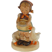 "M.I. Hummel ""Be Patient"" Girl with Ducks Figurine"