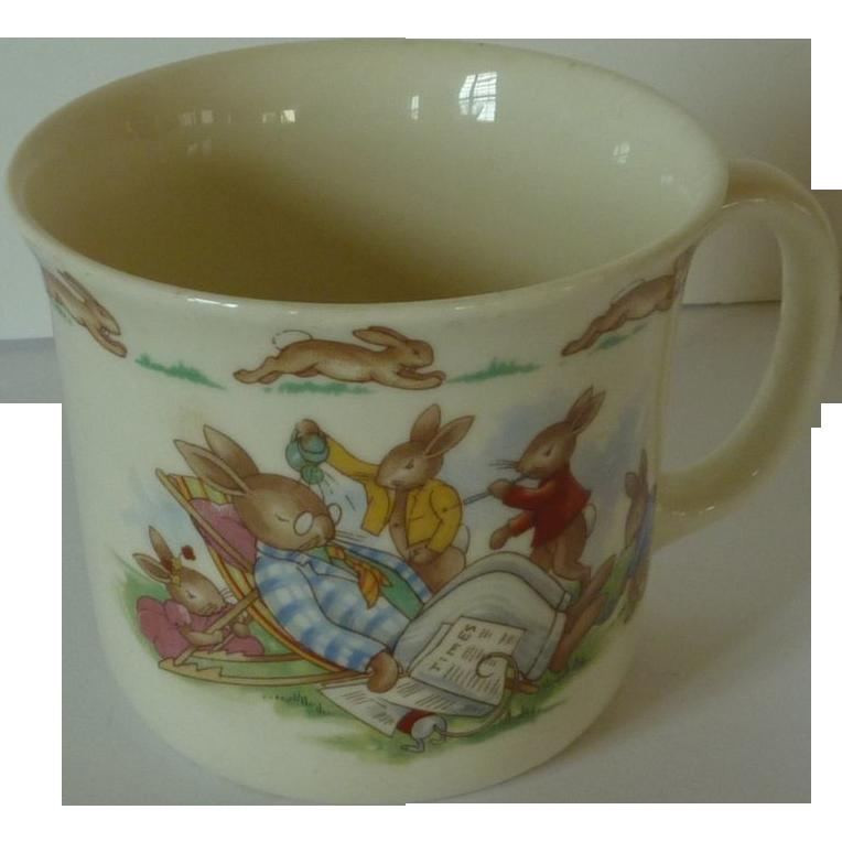 Royal Doulton Sleeping Gramps Single Handle Cup Bunnykins