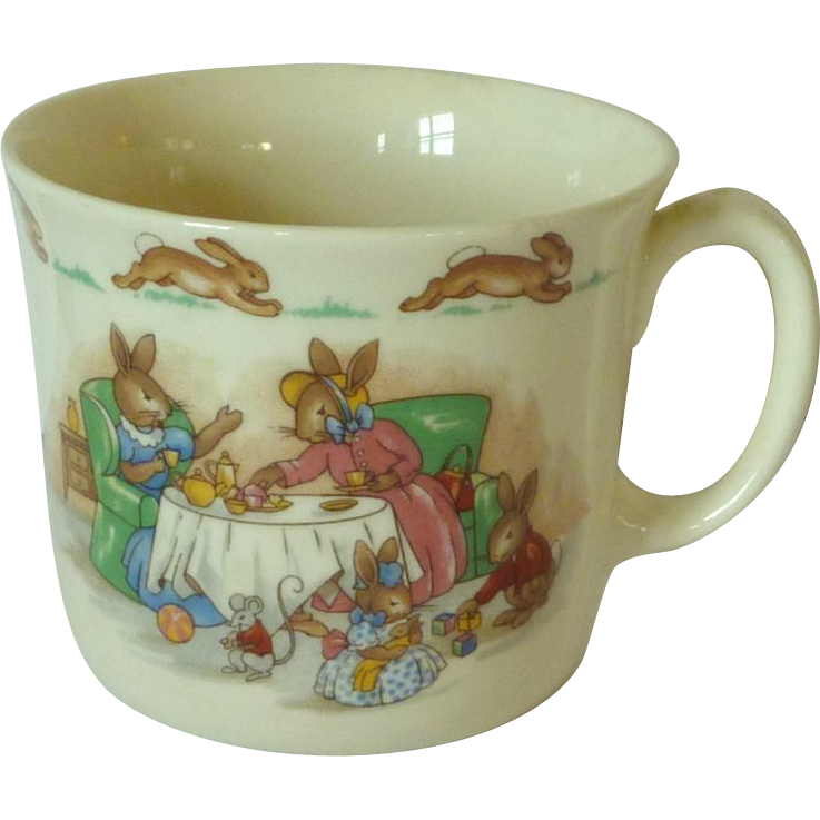 Royal Doulton Teatime Single Handle Cup Bunnykins