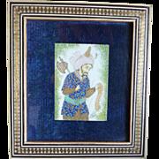 H. Ali Sajjadi Miniaturist Art Painting Framed Picture