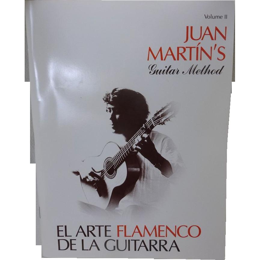 Juan Marin's Guitar Method Flamenco Music Book