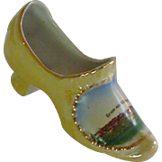Gruss aus Motzingen China Porcelain Slipper