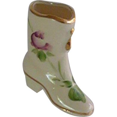 Porcelain Small Cow Girl Boot / Shoe