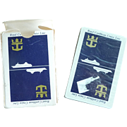 Royal Caribbean Cruise Lines Anchor Logo Playing Cards