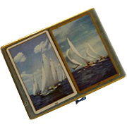 Sailing Ship Deck of Cards Vintage