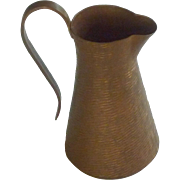 Unique Copper Small Decorative Pitcher