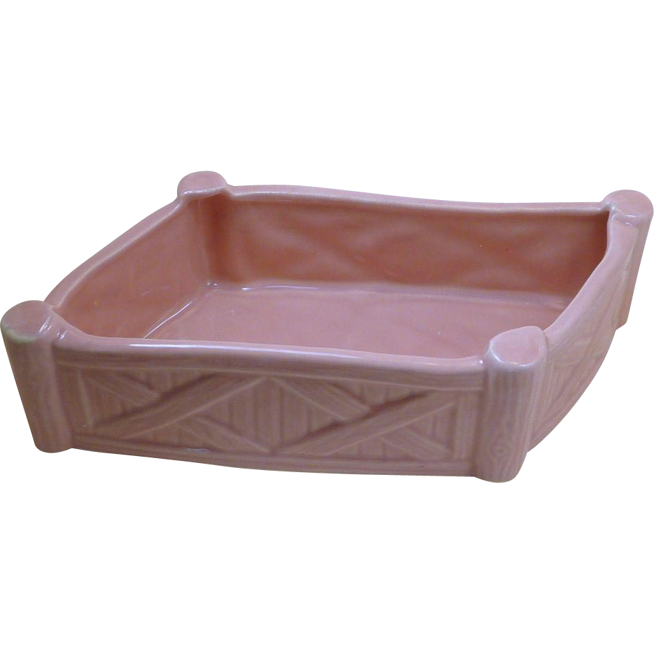 Unusual USA Pink Corral Fence Planter