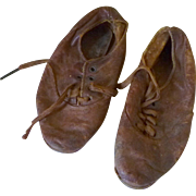 1940's Four Hole Child Leather Shoes