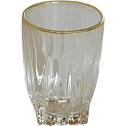 Park Avenue Federal Glass Shot Glass
