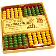 Deluxe Domino and Other Games Score Keeper