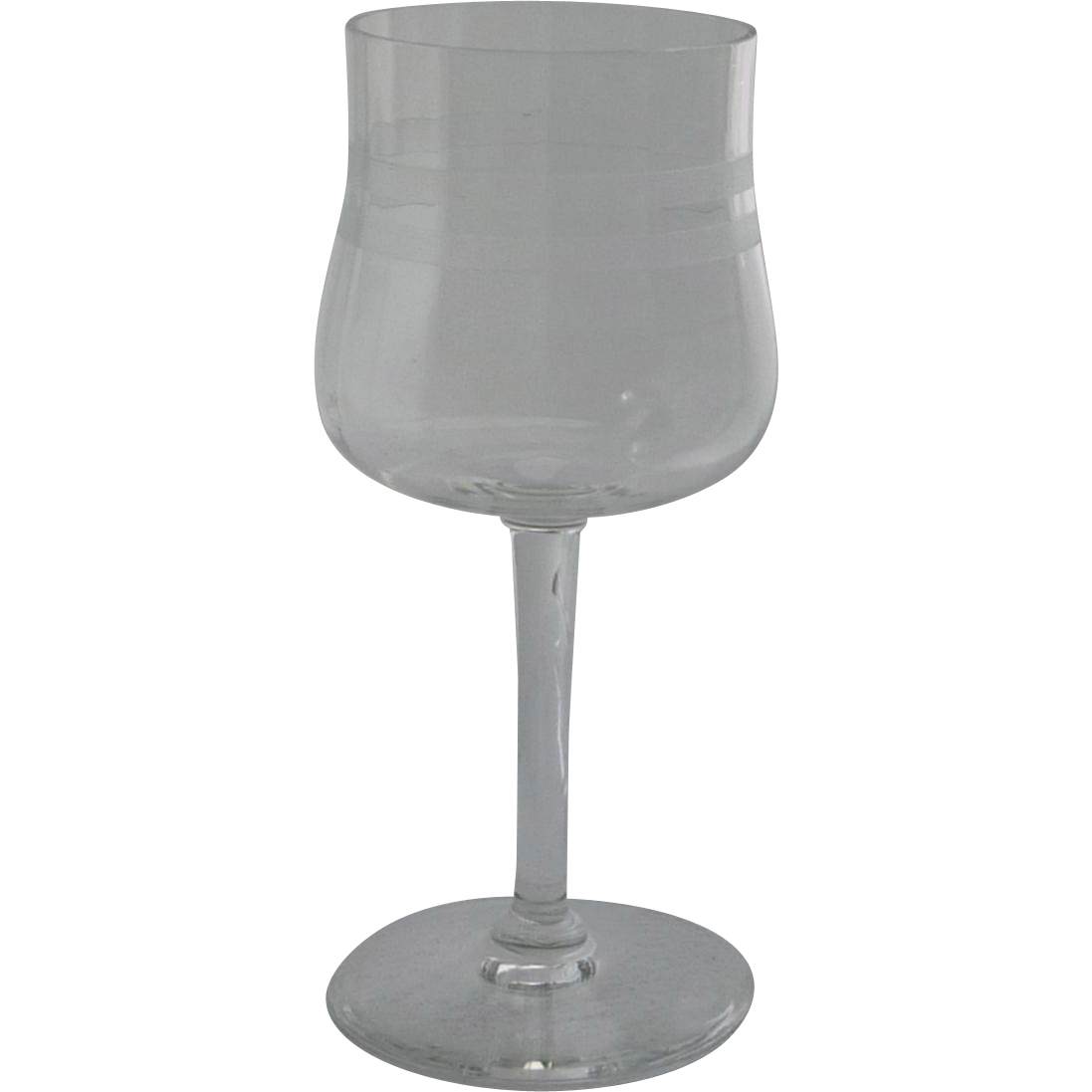 Cambridge Glass Stem Wine Glass