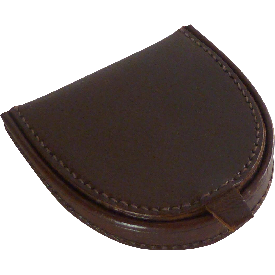 Leather Coin and Money Pouch Wallet