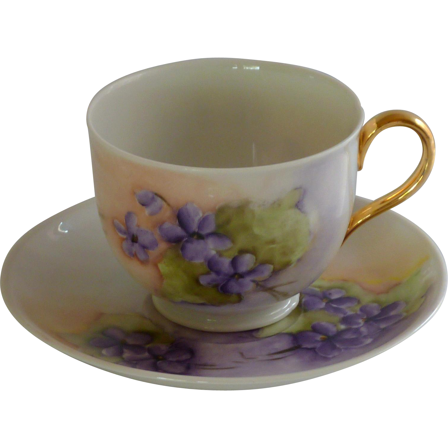 Vintage Hutschenreuther Selb Bone China Tea Cup