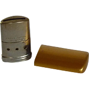 Brass Tone Breath-O-Lator Mini Breath Freshening Device