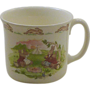 Hug a Mug Bunnykins Royal Doulton China Baby Child's Cup