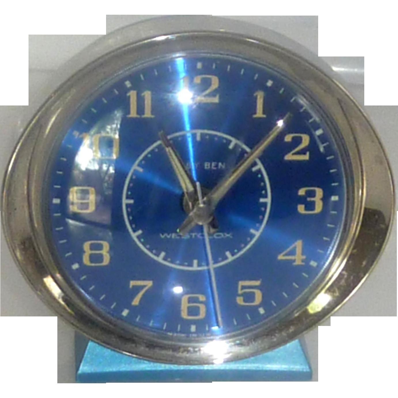 Baby Ben Wind up Alarm Clock Westclox