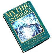 Mythic Astrology Box Set by Liz Green Tarot Cards and Book