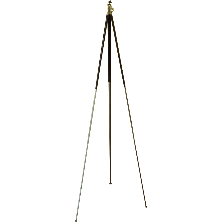 VGFA – Ansco Telescoping Metal Tripod with Case