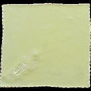 U.S. Navy  Yellow Silk Handkerchief Hanky