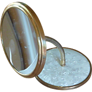 Vintage Faux Mother of Pearl Duo Mirrors 1950's