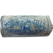 Old Moro Medical  Co. Pills for Men Bottle and Packaging