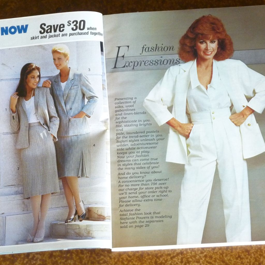 Sears 1985 Spring Summer Catalog From Rarefinds On Ruby Lane