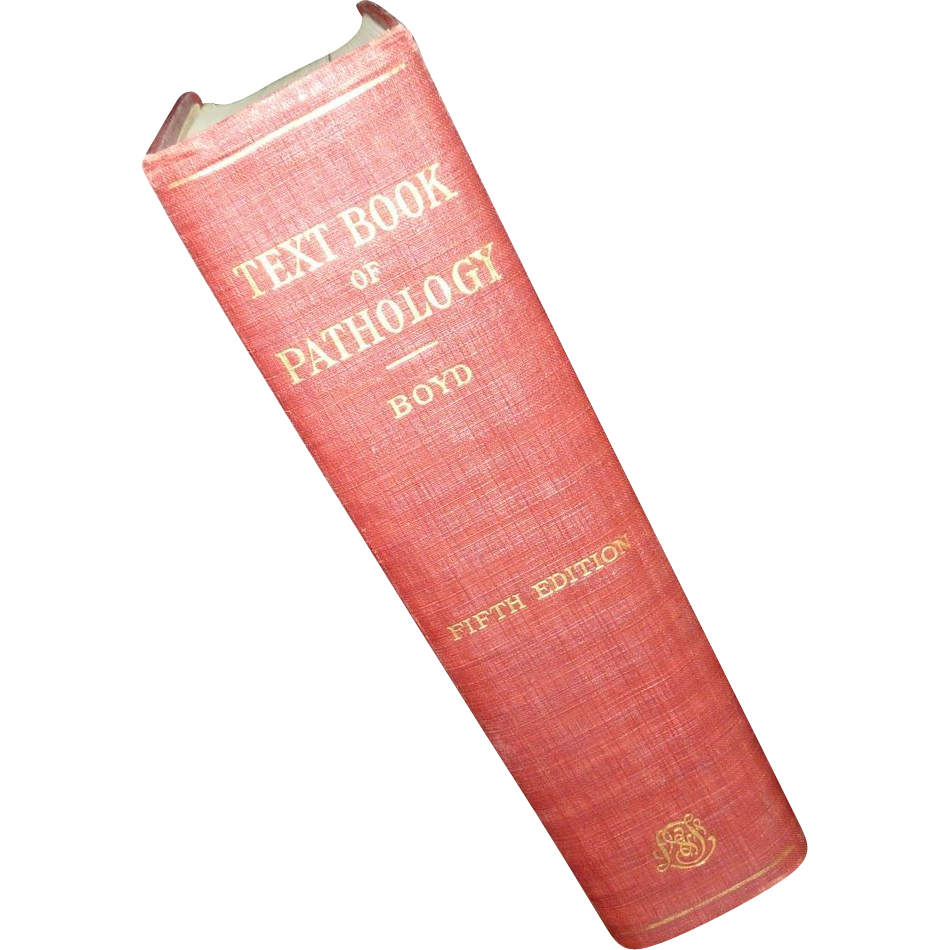Text Book of Pathology 1947  Boyd