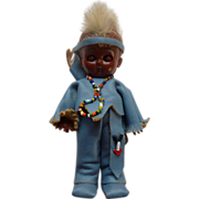 Carlson Native American Indian Doll Mohawk Brave