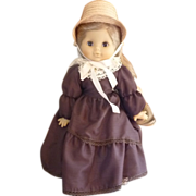 "Sweet  19"" Little Girl Doll Made in France - Red Tag Sale Item"