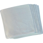 White Large Damask Dinner Linen Napkins