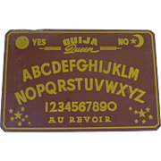 Old French Ouija Board and Sleeve Box  No Planchette