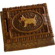 Burwood Syroco Scottie Dog Cigarette Box