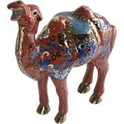 Cloisonné Brass 2 Hump Bactrian Camel