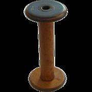 Large Vintage Wooden Textile Spool