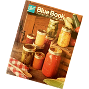 Ball Blue Book Canning and Freezing  1985