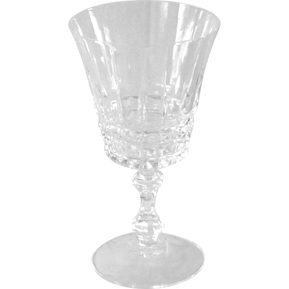Crystal Tuilleries – Villandry Water Goblet