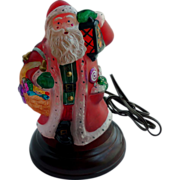 Limited Edition Old World Christmas Yuletide Santa Light