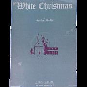 1942 Sheet Music White Christmas Irving Berlin Song Piano Lyrics Guitar Banjo