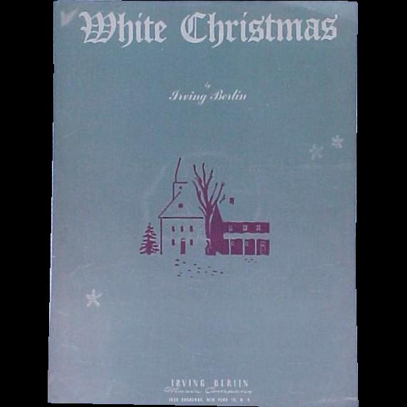 Christmas Sheet Music Without Lyrics - white christmas sheet music ...