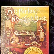 Cookbook 1974 Miss Parloa's Reprint of 1880 New Cook Book General Mills  Book