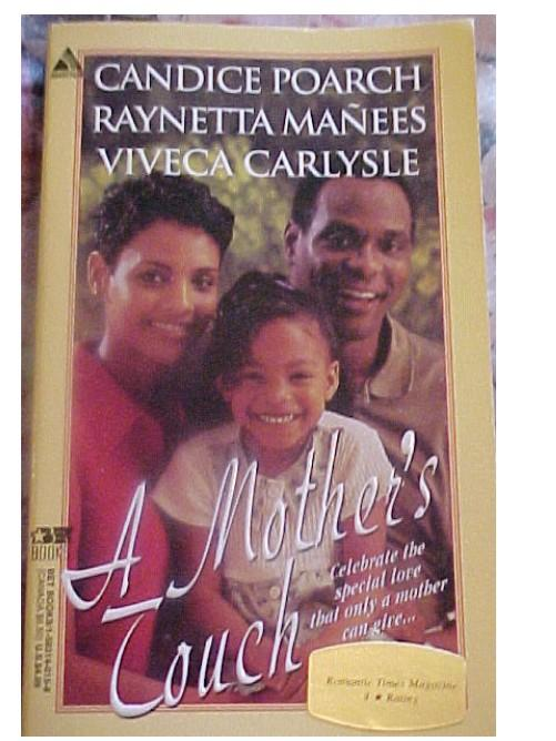 "Autographed Book ""A Mother's Touch"" By Raynetta Manees et al"
