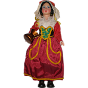 Vintage Italian Magis Souvenir Doll: Abruzzo