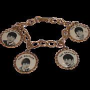 Original Beatles Charm Bracelet 1964